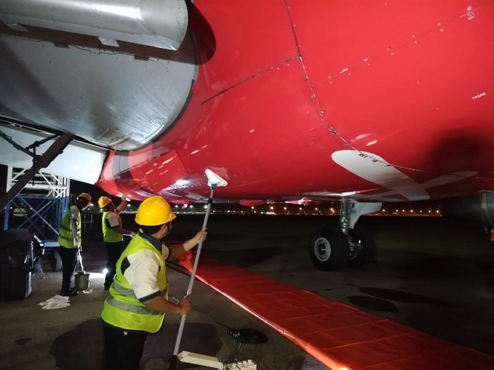 Aircraft Cleaning for IAA SUB
